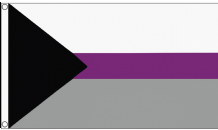 Demisexual (Gray Asexuality, Grace ) Pride 5'x3' (150cm x 90cm)